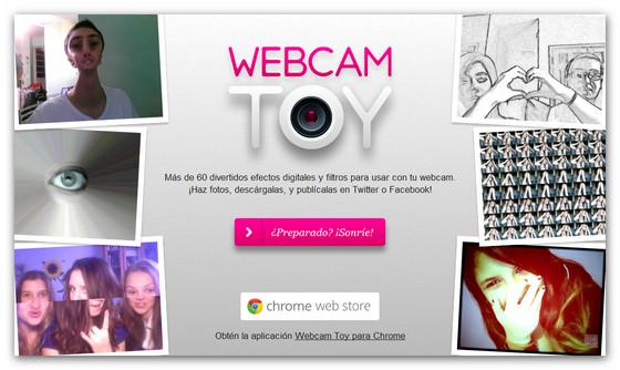 Tomar fotos con camara web toy 19