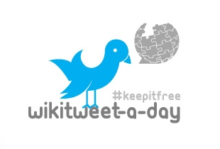 Apoya a Wikimedia México en el WikiTweet-a-day - wikitweet-a-day