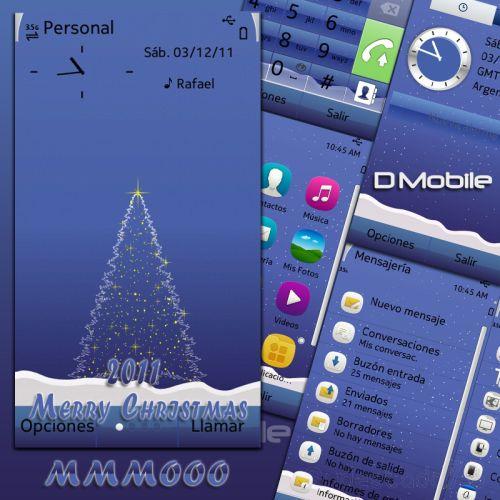 2011 merry christmas Excelentes temas de Navidad para Symbian (S40, S60v3, v5, ^3 Anna y Belle)