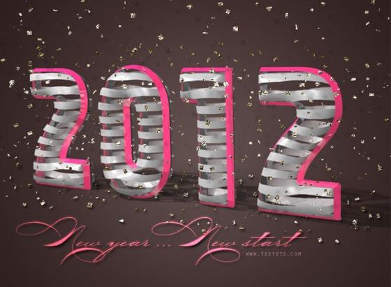 2012 Wallpapers de Año Nuevo 2012