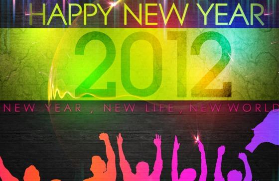 Wallpapers de Año Nuevo 2012 - Happy-new-year-2012