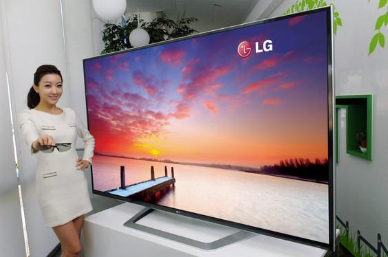 LG 3D UD 84 LG presentará en el CES nuevo televisor 3D Ultra Definition de 84 pulgadas