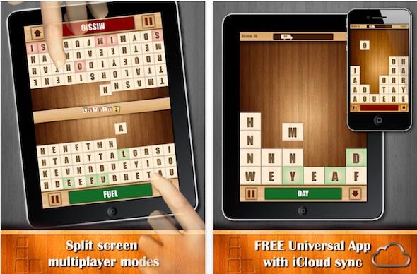 Letris 2, un adictivo juego de palabras para iOS - Letris-2-iphone-ipad
