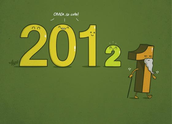 Wallpapers de Año Nuevo 2012 - New-year-fun