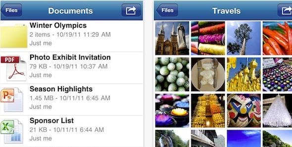 Microsoft lanza las aplicaciones de SkyDrive, OneNote y Kinectimals para iOS - Skydrive-app-ios