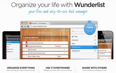 Task Management At Its Best With Wunderlist 6Wunderkinder Aplicaciones útiles para sobrevivir esta navidad y año nuevo