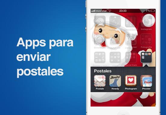 Envia postales a tus seres queridos con estas 4 apps para iOS en éstas fechas - apps-para-enviar-postelas