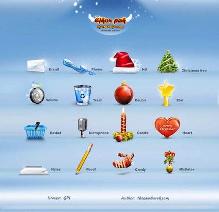christmas icon set no 1 by samborek d352o5g Increíbles iconos de Navidad para PC