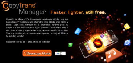 CopyTrans Manager, genial alternativa a iTunes que ahora permite sincronizar aplicaciones - copytrans-manager