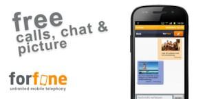Forfone, una excelente opción para llamadas y SMS gratis en Android y iPhone
