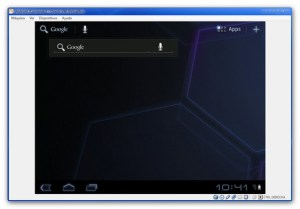 Probar Android 3.2 Honeycomb desde una máquina virtual