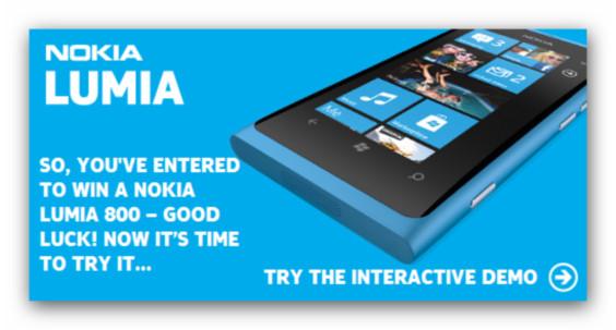 Nokia lanza un concurso en el que te podrás ganar un Lumia 800 - nokia-lumia-800-concurso