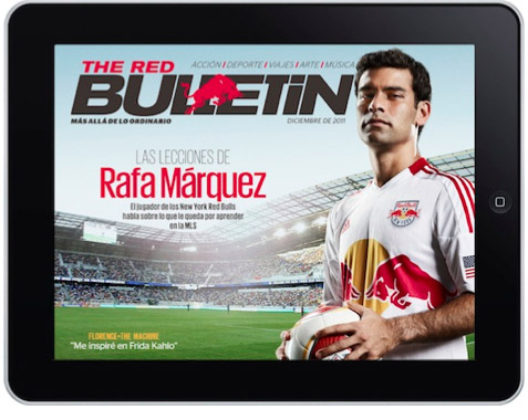 Todo el mundo de Red Bull en The Red Bulletin para iPad - para-IPAD