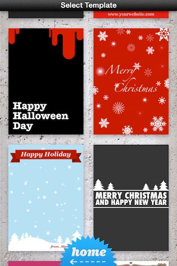Envia postales a tus seres queridos con estas 4 apps para iOS en éstas fechas - phoster-app-iphone-ipad
