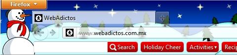 temas de navidad para firefox Temas de navidad para Firefox