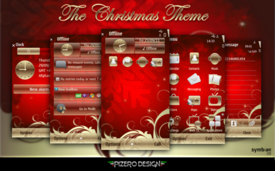 Excelentes temas de Navidad para Symbian (S40, S60v3, v5, ^3 Anna y Belle)