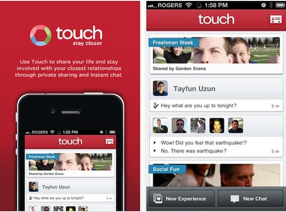 Pingchat, la aplicación de mensajería instantánea multiplataforma para móviles se renueva y se transforma en Touch - touch-ios