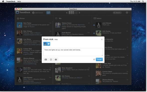 """TweetDeck renace y se convierte en aplicación """"nativa"""" en PC y Mac - tweetdeck"""