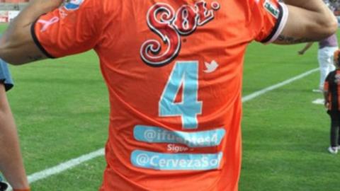 Nuevo uniforme de Jaguares con el Twitter de los jugadores - twitter-uniforme-jaguares