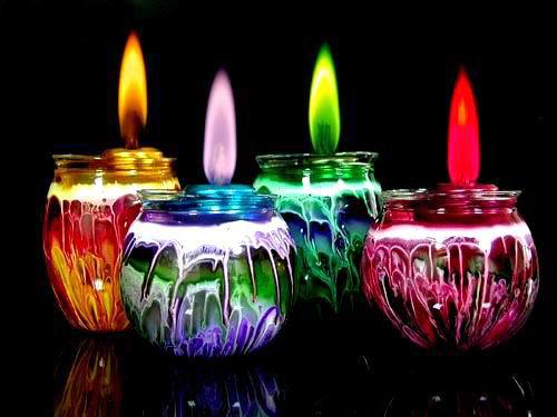 velas globos Tradiciones de Año Nuevo en México