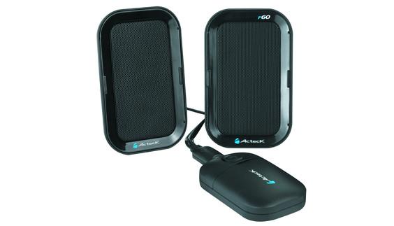 Freemax F60, las bocinas portátiles de Acteck - F60