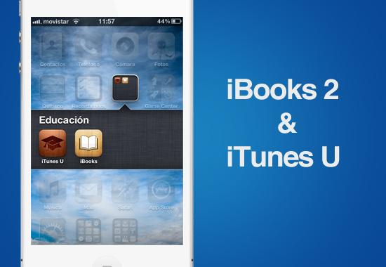 Actualización a iBooks y presentación de iTunes U también engalanaron el evento de Apple - ibooks-itunes-u