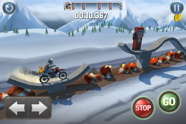 Bike Baron para iPhone/iPod/iPad [Reseña] - BikeBaron-Screenshot