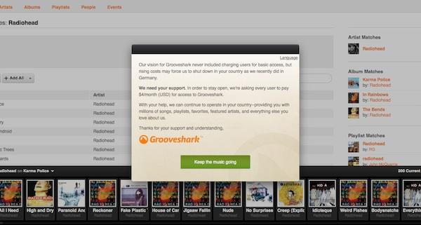 Grooveshark dejará de ofrecer su servicio gratuito - Grooveshark-no-sera-gratuito