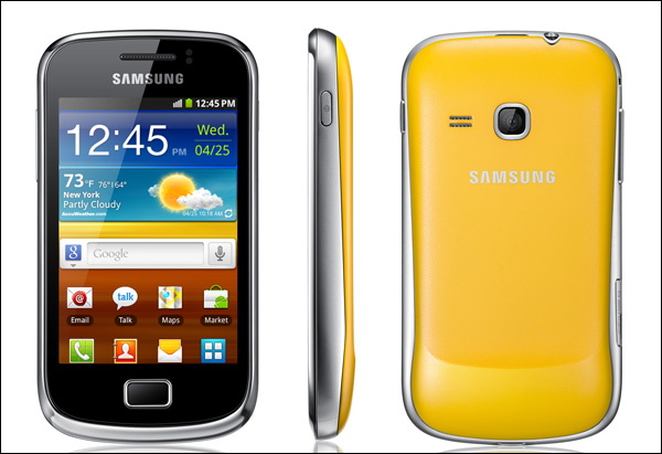 Samsung presenta el Galaxy Ace 2 y Mini 2 - Samsung_Galaxy_mini2_1