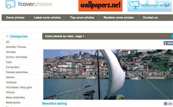 Personalizar tu biografía en Facebook con estos excelentes sitios - fcoverphotos