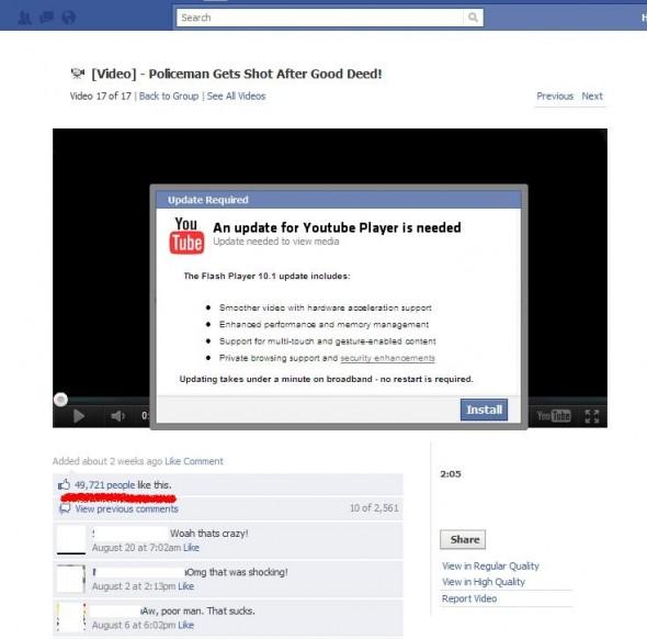 Falsos videos de comportamientos heróicos son parte de nuevas estafas en Facebook - fraude-videos-facebook-590x582
