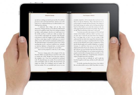 ipad ibooks iPads vs Libros de texto [Infografía]