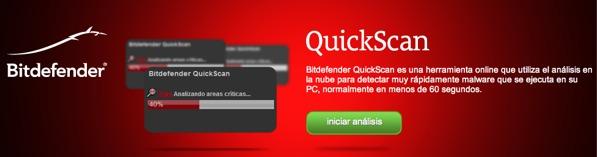 Bitdefender mejora su antivirus online gratuito - quickscan-bitdefender