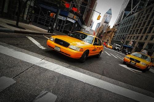 Video muestra la actividad diaria de los Taxis en Nueva York - taxis