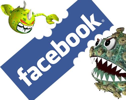 5 consejos para evitar ser estafados en Facebook - virus-facebook-np