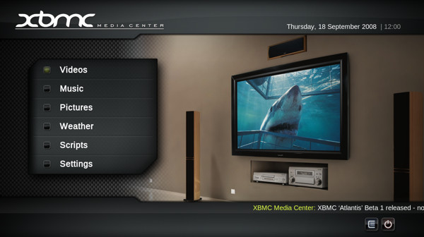 Tres alternativas a Boxee Media Center a raíz de su muerte para PC - xbmc-home1