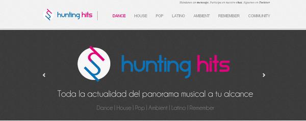 Hunting Hits, el sitio web de las novedades musicales - HuntingHits