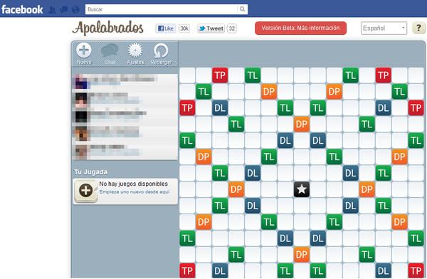 Apalabrados ya se puede jugar desde Facebook - apalabrados-facebook