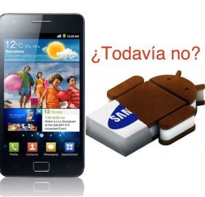 Actualización del Samsung Galaxy S2 a IceCream Sandwich no llegará el 10 de marzo, dice Samsung