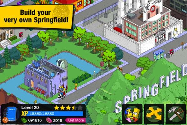 El juego The Simpsons: Springfield llega a iOS de la mano de Electronics Arts - mzl.fxmzlvyv