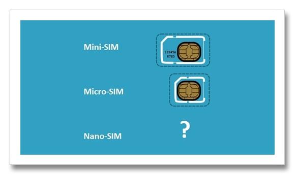 nano sim cards war La guerra de los fabricantes de celulares para la estandarización de los Nano SIM