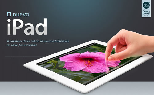 nuevo ipad caracteristicas Nuevo iPad y sus características en una infografía