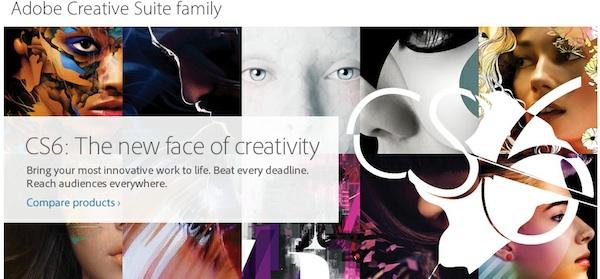 Adobe presentó oficialmente su Creative Suite 6 - Adobe-CS6-oficial