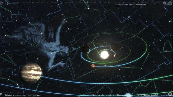 Desarrollador de videojuegos desempleado crea una impresionante aplicación para explorar el sistema solar - Earth_Render8