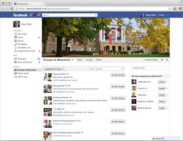 Facebook presenta una nueva función de su red social: Grupos para Escuelas - Facebook-escuelas-perfil