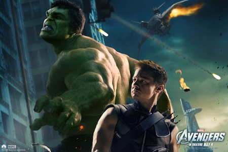 Jeremy Renner in The Avengers Wallpaper 9 1024 Increíbles Wallpapers de The Avengers