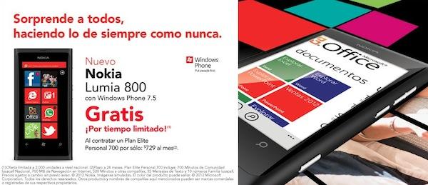 Nokia lumia 800 iusacell Nokia Lumia 800 y 710 disponibles a la venta en Iusacell