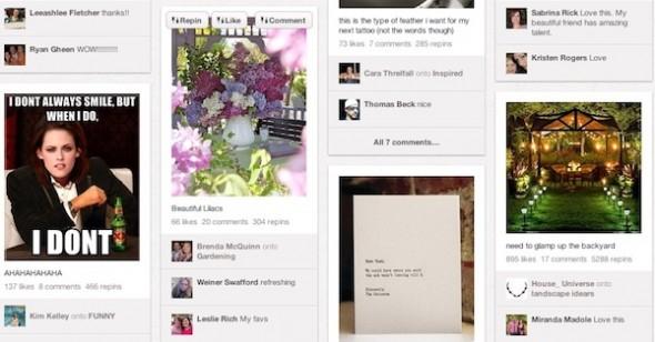 Pinterest es ahora la tercera red social más popular - Pinterest-590x308