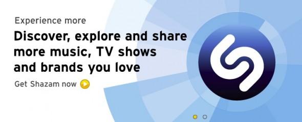Shazam, la popular aplicación para identificar canciones se actualiza y trae interesantes mejoras - Shazam-5-590x238