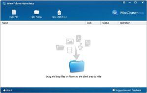 Oculta carpetas y archivos con Wise Folder Hider